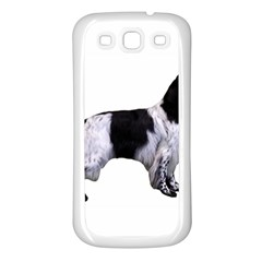 English Setter Full Samsung Galaxy S3 Back Case (White)