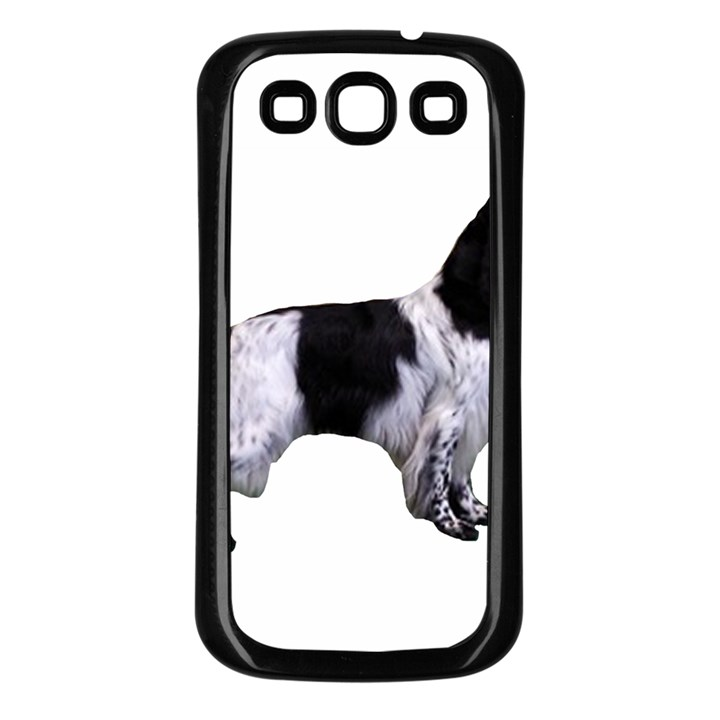 English Setter Full Samsung Galaxy S3 Back Case (Black)