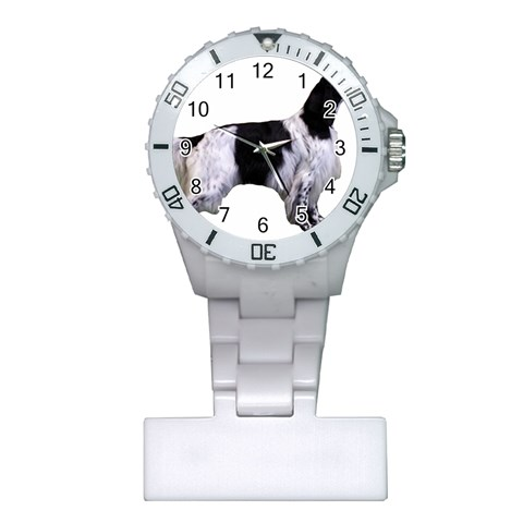 English Setter Full Plastic Nurses Watch