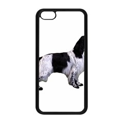 English Setter Full Apple iPhone 5C Seamless Case (Black)