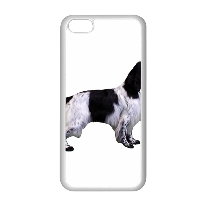 English Setter Full Apple iPhone 5C Seamless Case (White)