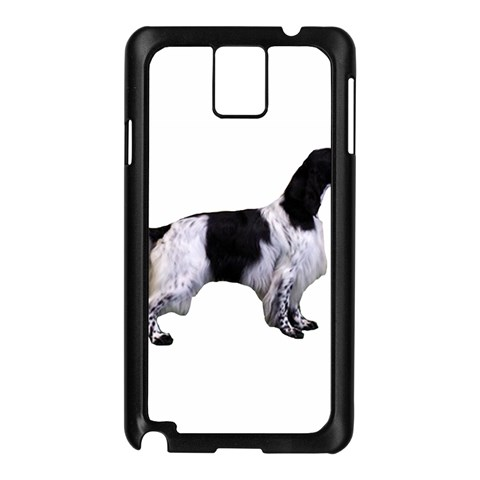English Setter Full Samsung Galaxy Note 3 N9005 Case (Black)