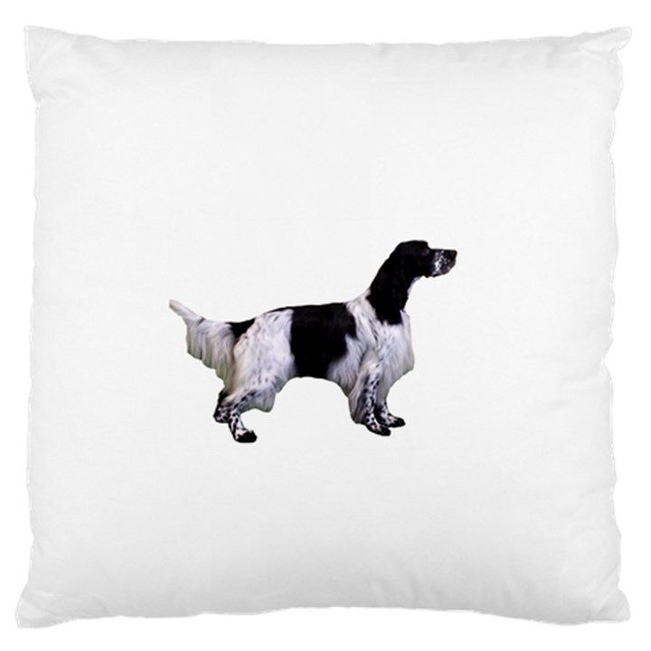 English Setter Full Standard Flano Cushion Case (Two Sides)