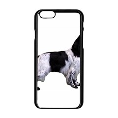 English Setter Full Apple iPhone 6/6S Black Enamel Case