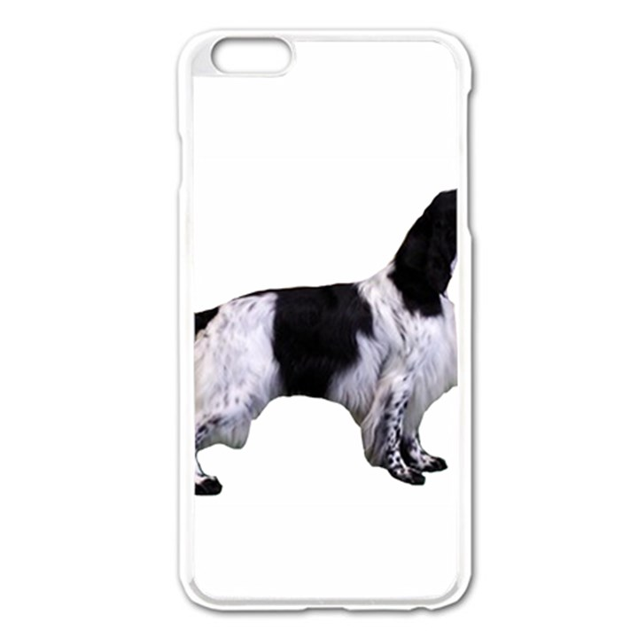 English Setter Full Apple iPhone 6 Plus/6S Plus Enamel White Case