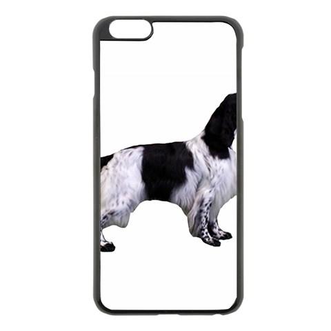 English Setter Full Apple iPhone 6 Plus/6S Plus Black Enamel Case