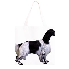 English Setter Full Grocery Light Tote Bag