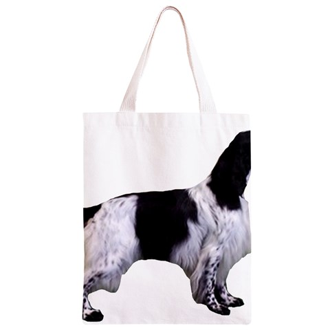 English Setter Full Classic Light Tote Bag