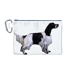 English Setter Full Canvas Cosmetic Bag (M)