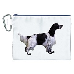 English Setter Full Canvas Cosmetic Bag (XXL)