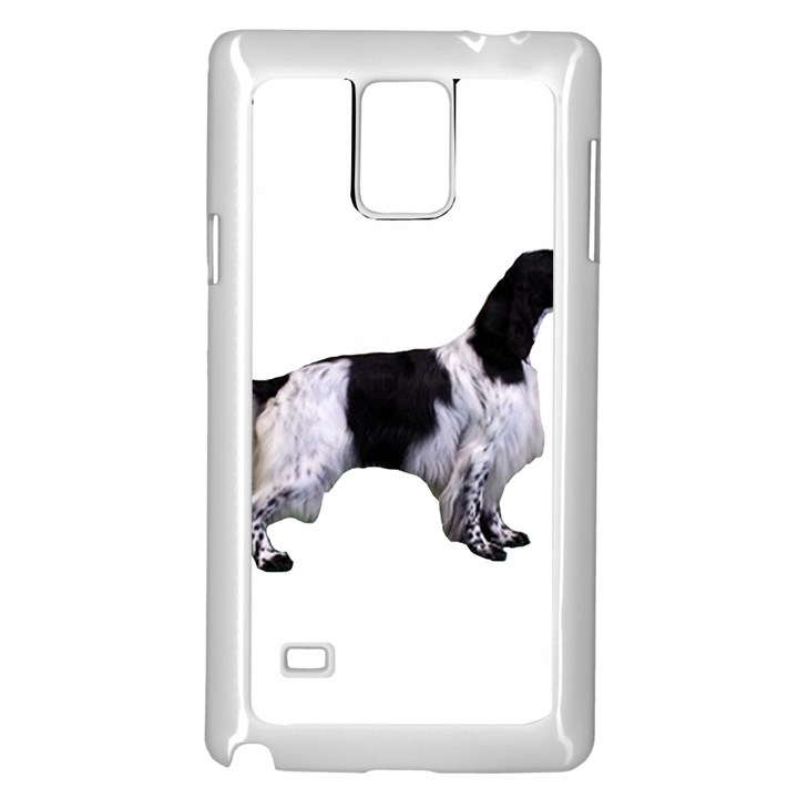 English Setter Full Samsung Galaxy Note 4 Case (White)