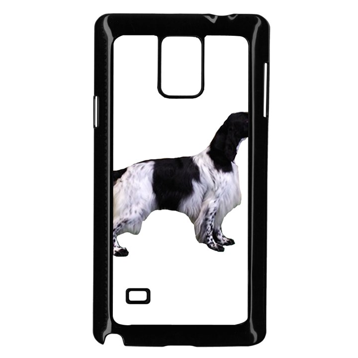 English Setter Full Samsung Galaxy Note 4 Case (Black)