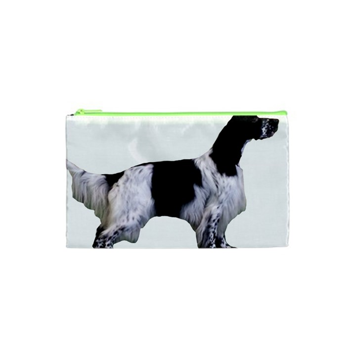 English Setter Full Cosmetic Bag (XS)