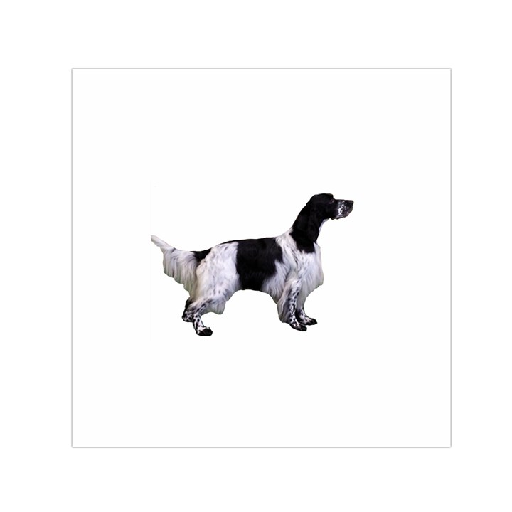 English Setter Full Small Satin Scarf (Square)