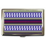 Colorful Retro Geometric Pattern Cigarette Money Cases Front