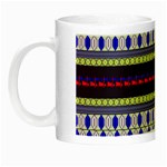 Colorful Retro Geometric Pattern Night Luminous Mugs Left