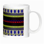 Colorful Retro Geometric Pattern Night Luminous Mugs Right