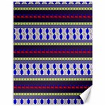Colorful Retro Geometric Pattern Canvas 12  x 16   16 x12 Canvas - 1