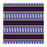 Colorful Retro Geometric Pattern Medium Glasses Cloth (2-Side) Front