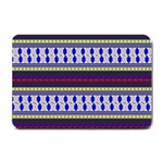 Colorful Retro Geometric Pattern Small Doormat  24 x16 Door Mat - 1
