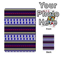 Colorful Retro Geometric Pattern Multi-purpose Cards (Rectangle)