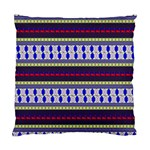 Colorful Retro Geometric Pattern Standard Cushion Case (One Side) Front