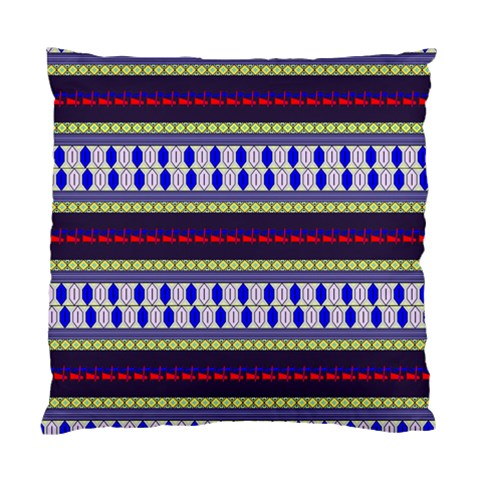 Colorful Retro Geometric Pattern Standard Cushion Case (Two Sides)