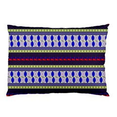 Colorful Retro Geometric Pattern Pillow Case