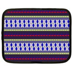 Colorful Retro Geometric Pattern Netbook Case (XXL)  Front
