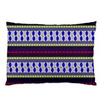 Colorful Retro Geometric Pattern Pillow Case (Two Sides) Front