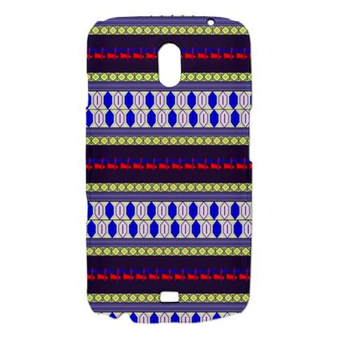 Colorful Retro Geometric Pattern Samsung Galaxy Nexus i9250 Hardshell Case