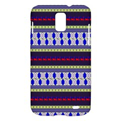 Colorful Retro Geometric Pattern Samsung Galaxy S II Skyrocket Hardshell Case