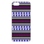 Colorful Retro Geometric Pattern Apple iPhone 5 Seamless Case (White) Front