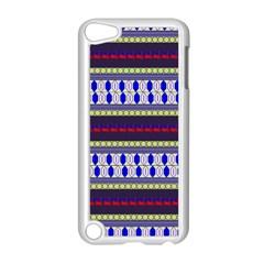 Colorful Retro Geometric Pattern Apple Ipod Touch 5 Case (white)