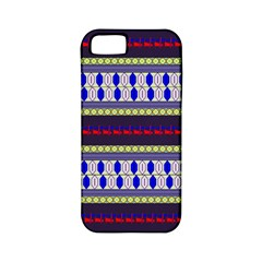 Colorful Retro Geometric Pattern Apple Iphone 5 Classic Hardshell Case (pc+silicone)