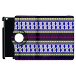 Colorful Retro Geometric Pattern Apple iPad 2 Flip 360 Case Front