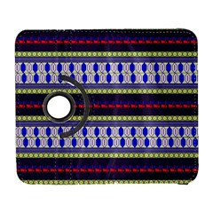 Colorful Retro Geometric Pattern Samsung Galaxy S  III Flip 360 Case
