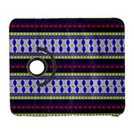 Colorful Retro Geometric Pattern Samsung Galaxy S  III Flip 360 Case Front