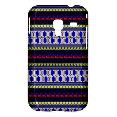 Colorful Retro Geometric Pattern Samsung Galaxy Ace Plus S7500 Hardshell Case
