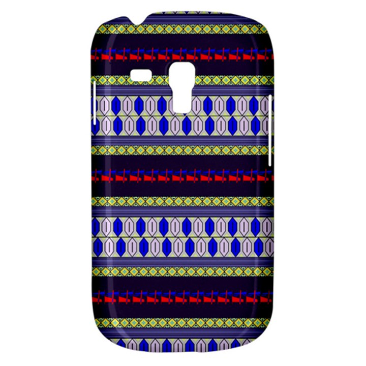 Colorful Retro Geometric Pattern Samsung Galaxy S3 MINI I8190 Hardshell Case