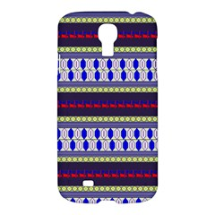 Colorful Retro Geometric Pattern Samsung Galaxy S4 I9500/i9505 Hardshell Case