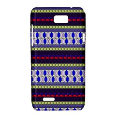 Colorful Retro Geometric Pattern Motorola XT788