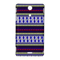 Colorful Retro Geometric Pattern Sony Xperia TX