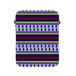 Colorful Retro Geometric Pattern Apple iPad 2/3/4 Protective Soft Cases Front
