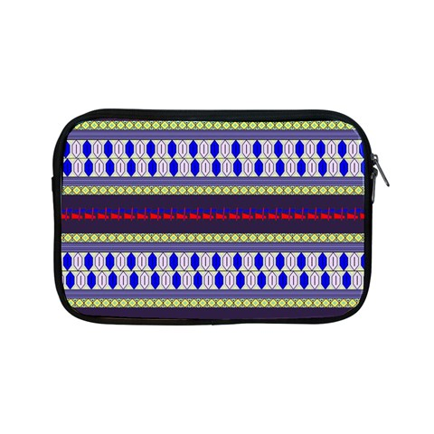 Colorful Retro Geometric Pattern Apple iPad Mini Zipper Cases