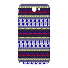 Colorful Retro Geometric Pattern Samsung Note 2 N7100 Hardshell Back Case