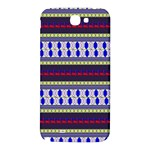 Colorful Retro Geometric Pattern Samsung Note 2 N7100 Hardshell Back Case Front