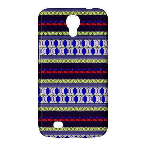 Colorful Retro Geometric Pattern Samsung Galaxy Mega 6.3  I9200 Hardshell Case