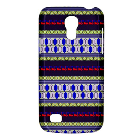 Colorful Retro Geometric Pattern Galaxy S4 Mini
