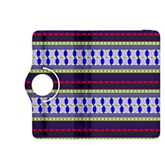 Colorful Retro Geometric Pattern Kindle Fire Hdx 8 9  Flip 360 Case
